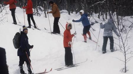Udatert arkivfoto fra skitur i Rondane. (Foto: Thorberg, Erik/SCANPIX)