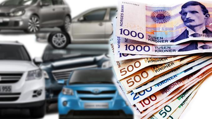 Norge er på Europatoppen i kostbart bilhold - og det er ingen grunn til å tro at det vil endre seg med det første. (Foto: Fotomontasje: Ole-Martin Lundefaret)