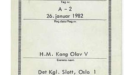 Servicebok (Foto: Haldor Strand)