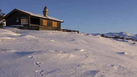 hytte (Foto: Håkon Mosvold Larsen)