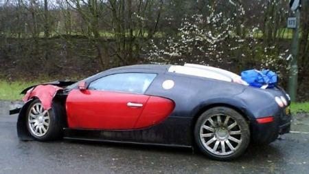 Dyreste krasj Veyron