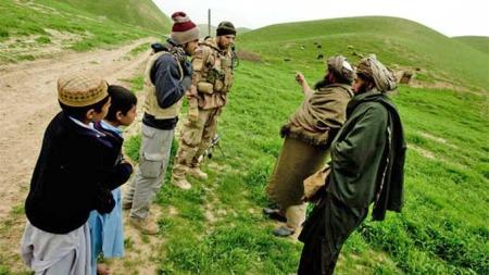 Norske soldater afghanere (Foto: Forsvaret)