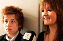 Danserne Sondre og Maria deltok i «Norske Talenter» i 2008. Nå prøver de seg igjen.