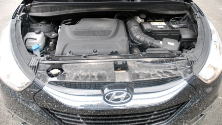 2-liter diesel på 136 hk / 320 Nm (Foto: Benny Christensen)