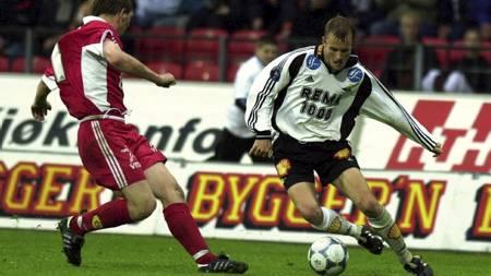 HAR HERJET MED BRANN: Harald Martin Brattbakk tror Rosenborg   kan slå Brann 10-0 igjen. (Foto: Alley, Ned/SCANPIX)