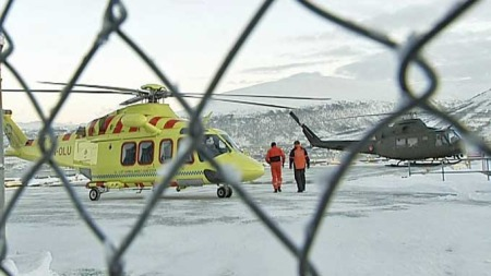 Luftambulansen i Tromsø (Foto: Jørn B. Nyvoll/TV 2)