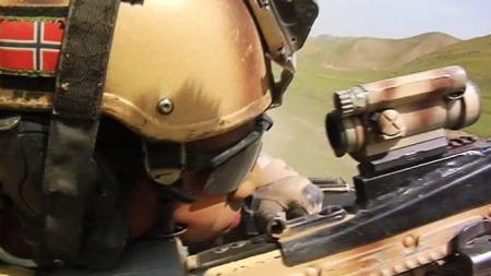 Norske soldater Afghanistan telemark batajon Task Unit (Foto: Aage Aune/TV 2)