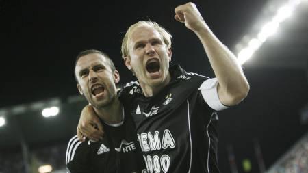 Mikael Dorsin står med fire assist i Tippeligaen. Bare Odd Grenlands   Bentley har like mange. (Foto: Teigen, Trond Reidar/SCANPIX)