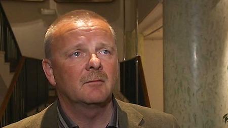 - Luftambulansetjenesten er under press, sier daglig leder i Luftambulansetjenesten ANS, Øyvind Juell. (Foto: TV 2)