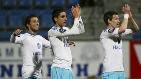 Freddy Dos Santos, Mohammed Abdellaoue og Morten Berre (Foto: Teigen, Trond Reidar/SCANPIX)