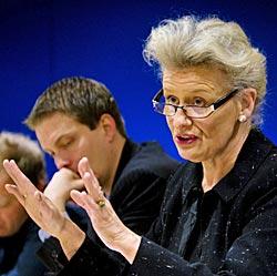 Islands ambassadør Sigríður Dúna Kristmundsdóttir.