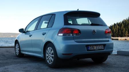 VW Golf - suverent på topp som Norges mest solgte bilmodell. (Foto: Benny Christensen)