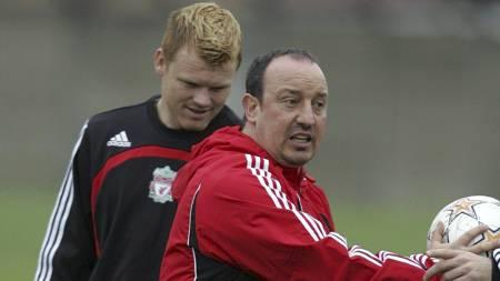LIKER BENITEZ: John Arne Riise liker Rafael Benitez. (Foto:   PAUL THOMAS/AP)