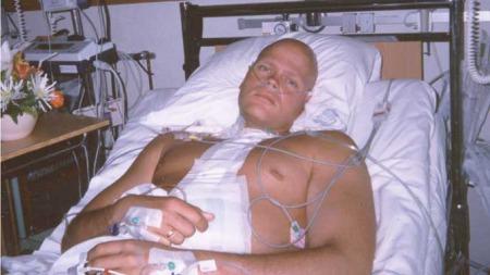Knut Syrstad har kjempet mot testikkelkreft i ti år. Han har   hatt fem tilbakefall. (Foto: Privat)