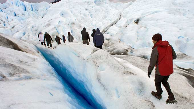 Argentinas Perito Moreno isbre (Foto: Reuters)