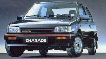 Det begynner å bli noen år siden denne var nybil - og spesielt skarpt kan vel bildet av Charade heller ikke bedkyldes for å være.