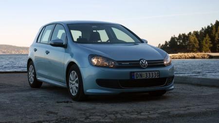 2010, VW Golf BlueMotion (Foto: Benny Christensen)