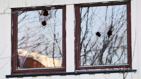 Kulehull politidrap Mo i Rana tåregass (Foto: Scanpix)