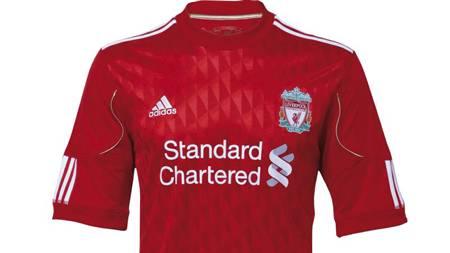 Liverpools nye hjemmedrakt (Foto: liverpoolfc.tv/)