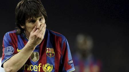Messi (Foto: FILIPPO MONTEFORTE/Afp)