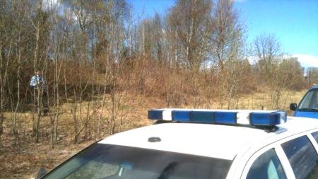 TURSTI: Kvinnen ble funnet død på turstien i Finstadskogen. (Foto: MMS/Goran Jorganovich)