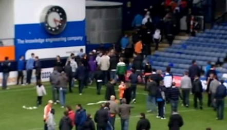 Fotballbråk i England