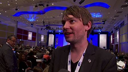 Leder for Unge Høyre, Henrik Asheim. (Foto: TV 2/)