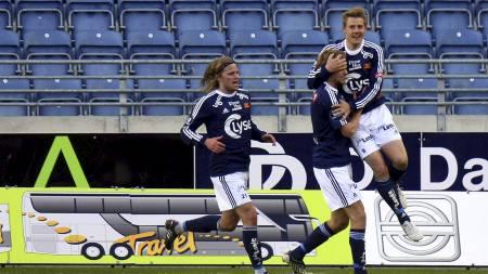 Patrik Ingelsten scoret to mot Hønefoss. (Foto: Hansen, Alf   Ove/Scanpix)