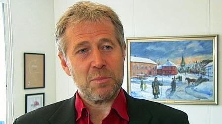 MER PENGER: Leder i Politiets fellesforbund, Arne Johannessen,   mener det går på troverdigheten løs for justisministeren om det ikke   bevilges mer penger. (Foto: Aage Aune/TV 2)