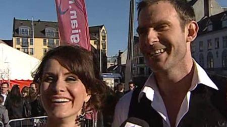 DANSERE: Kathrine Moholt og Carsten Skjelbreid skal delta i danse-VM
