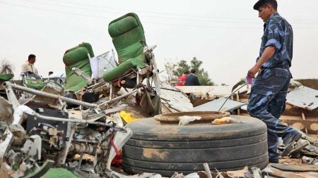 Flyulykke Libya stoler (Foto: AFP)