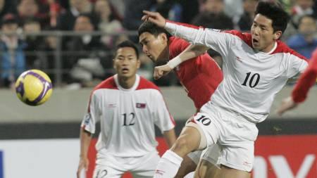 Jong Tae-Se spiller for japanske Kawasaki Frontale. (Foto: Ahn Young-joon/AP)