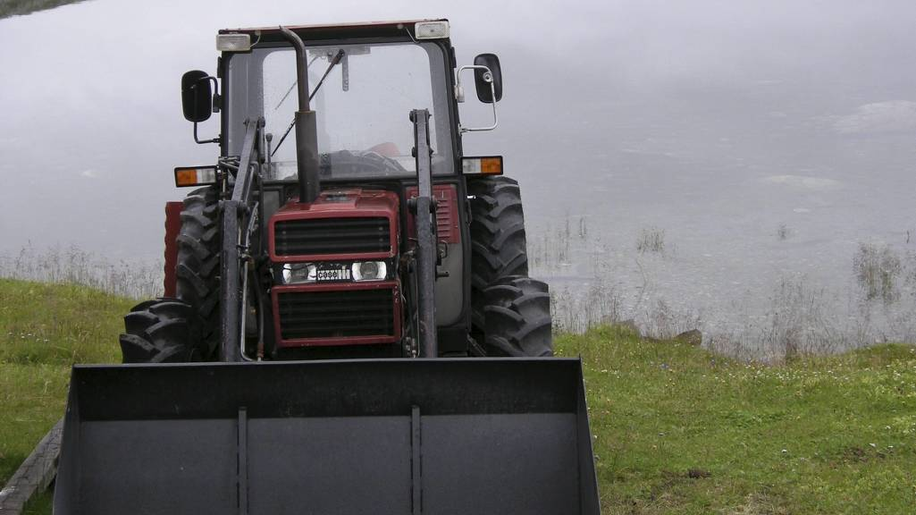 Traktor (Foto: Vikene, Solveig/SCANPIX)