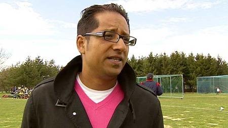 OPPGITT: Yousuf Gilani sier cricketspillerne føler seg diskriminert. (Foto: Nico Sollie)