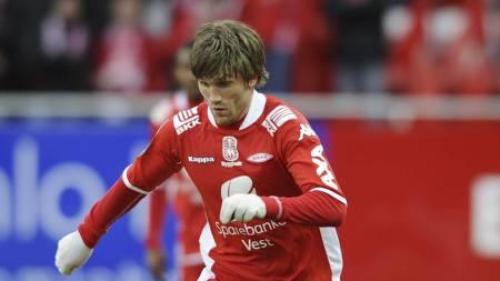 Erik Mjelde runder 100 tippeligakamper mot Fredrikstad. (Foto: Hommedal, Marit/SCANPIX)