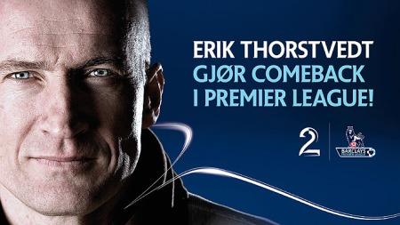Erik Thorstvedt gjør comeback i Premiere League - på TV 2