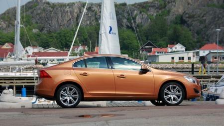 S60 er Volvos nyeste modell - og en av dem kinesiske Geely har store forventninger til i årene som kommer. (Foto: Kjetil H. Sviland)