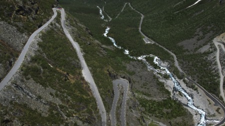 Trollstigen lite (Foto: Scanpix)