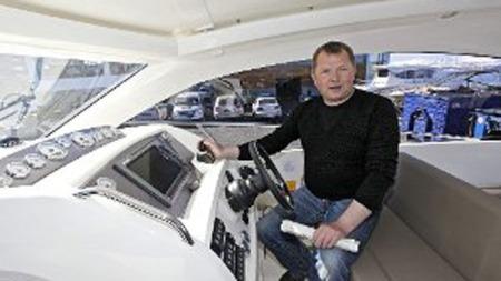 Odd-Espen Olsen hos biltrend.  (Foto: Vidar Dons Lindrupsen )