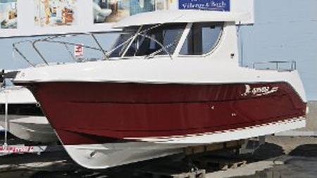 rød-båt (Foto: Vidar Dons Lindrupsen )