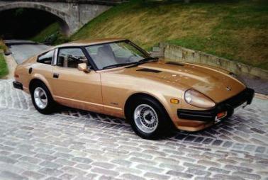 Original Datsun 280Z fra 1979.