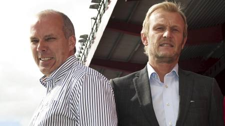 Roald Bruun-Hanssen og Lars Moldestad (Foto: Hommedal, Marit/SCANPIX)