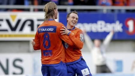 Tor Hogne Aarøy og Alexander Mathisen. (Foto: Ekornesvåg, Svein   Ove/Scanpix)