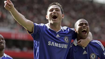 Frank Lampard har vært ute med skade siden august. (Foto: SANG TAN/AP)