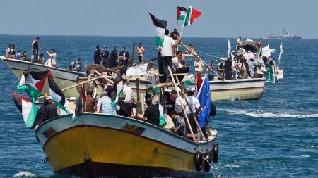 Hamas   Gaza palestinske båter (Foto: AP)