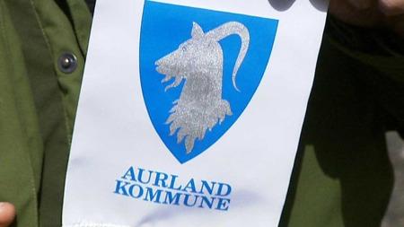 GEITEKOMMUNE: Aurland har geit i kommunevåpenet. (Foto: Kåre Breivik / TV 2)