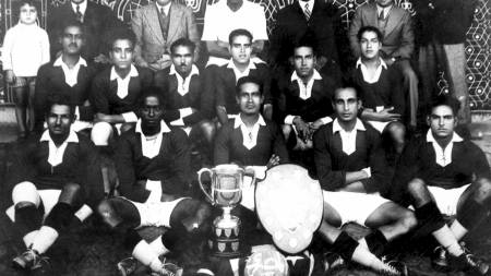 A picture from 1934 shows Egyptian national football team (Foto: -/Afp)