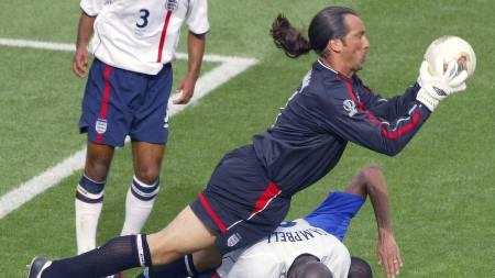 David Seaman 2002 (Foto: PHILIPPE HUGUEN/AFP)