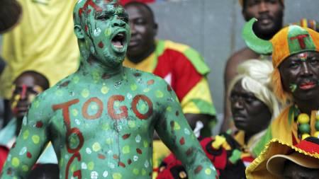 Togolese (Foto: PHILIPPE HUGUEN/AFP)