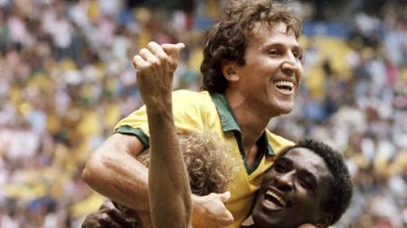 BEDRE ENN MESSI? Brasilianske Flamengo hevder at Zico scoret flere enn Messi. (Foto: -/Afp)